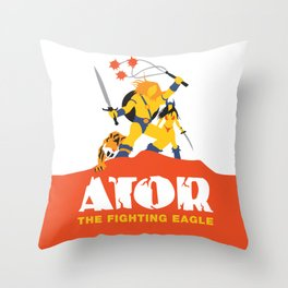 Ator: The Fighting Eagle Throw Pillow