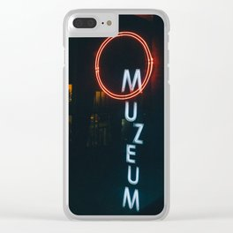 Museum of Modern Art, Warsaw Clear iPhone Case