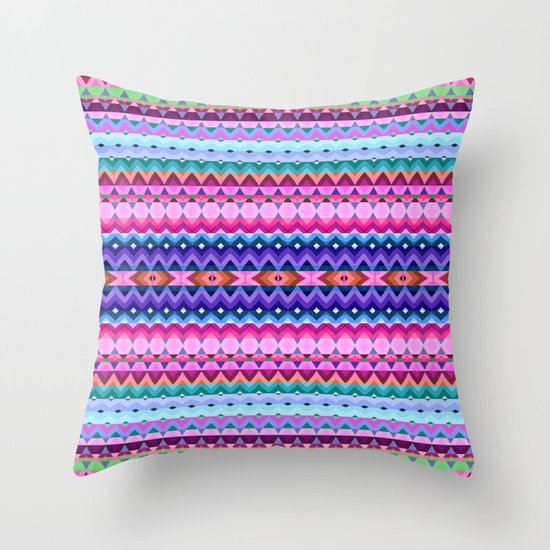 Mix #190 Throw Pillow by Ornaart Society6