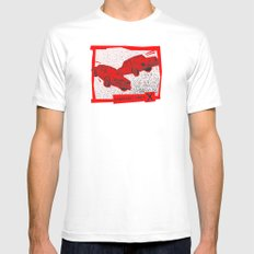 Left Car, Right Car Mens Fitted Tee White MEDIUM