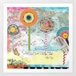 Dreamtime Journey Art Print