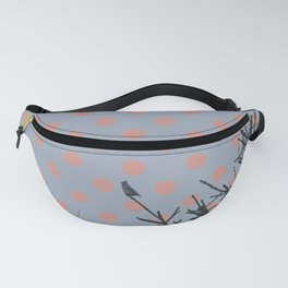 Pine tree and polka dots Fanny Pack