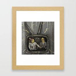 TV Casualty Framed Art Print