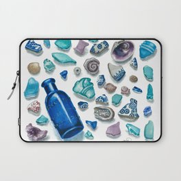Bits From The Sea Laptop Sleeve