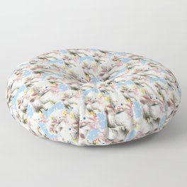 'Kitsch'tory - Psychdelambic Floor Pillow