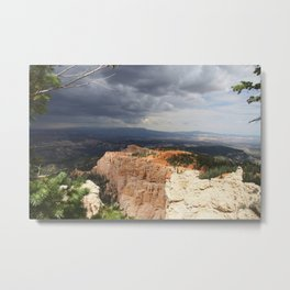Dark Skies Over Bryce Canyon National Park Metal Print
