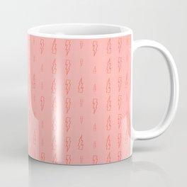 pink lightning Coffee Mug