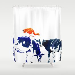Sunday afternoon Shower Curtain