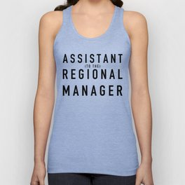 Assistant (to the) Regional Manager - The Office Unisex Tank Top
