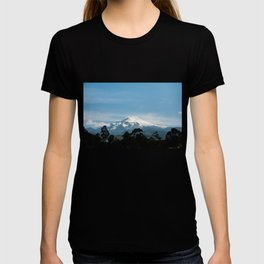 Snowy volcano T-shirt