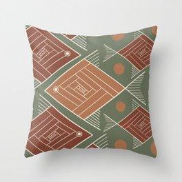 Brazilian Soil V Throw Pillow