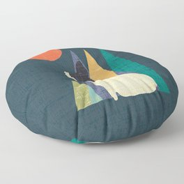 Waiting for You French Bulldog Floor Pillow