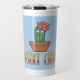 Desert Child - Funny Cactus Pun Gift Travel Mug