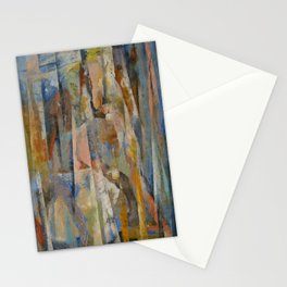 Wild Horses Abstract Stationery Cards