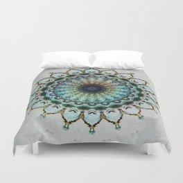 Mandala boho style Duvet Cover