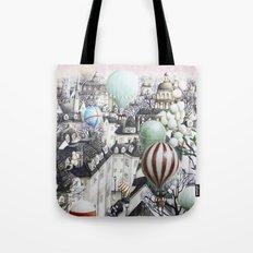 Balloon travel Tote Bag