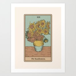 The Sunflowers Art Print