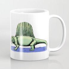Polychrome Dimetrodon Mug