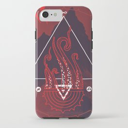 Mountain of Madness (red) iPhone Case