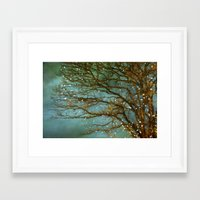 lights Framed Art Prints featuring Magical by The Last Sparrow
