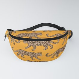 Kitty Parade - Classic Camel on Tangerine Fanny Pack