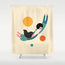 Won't Let Go Shower Curtain