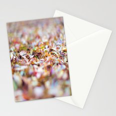 Summer Leaves Abstract Stationery Cards