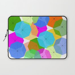 Colorful umbrellas Laptop Sleeve