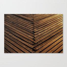 Wooden Artistic pallets Canvas Print