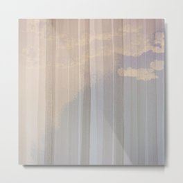 Silent clouds in the morning Metal Print