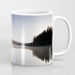 A Trillium Morning Coffee Mug
