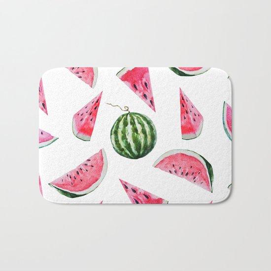Melon Pattern 03 Bath Mat