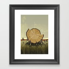 Forest Management Framed Art Print