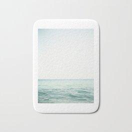 Blue French Sea Bath Mat