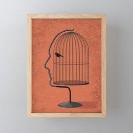 free to speak your mind Framed Mini Art Print