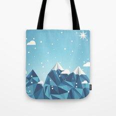 Cool Mountains Tote Bag