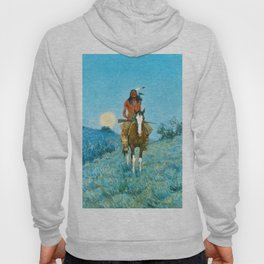 Frederic Remington - The Outlier, 1909 Hoody