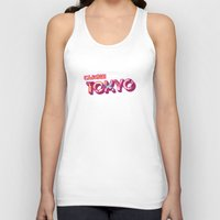 tokyo Tank Tops featuring Tokyo by nicole martinez