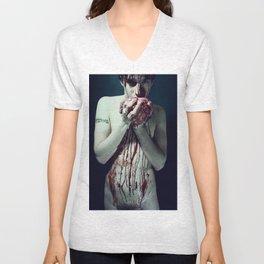 Zombie Boy Unisex V-Neck