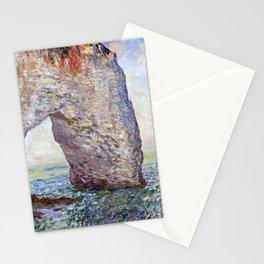 Claude Monet The Manneporte (Étretat) Stationery Cards