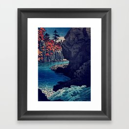 Hunker Down at Risna Framed Art Print