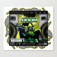 doom Canvas Prints featuring DOOM by D.Armendariz