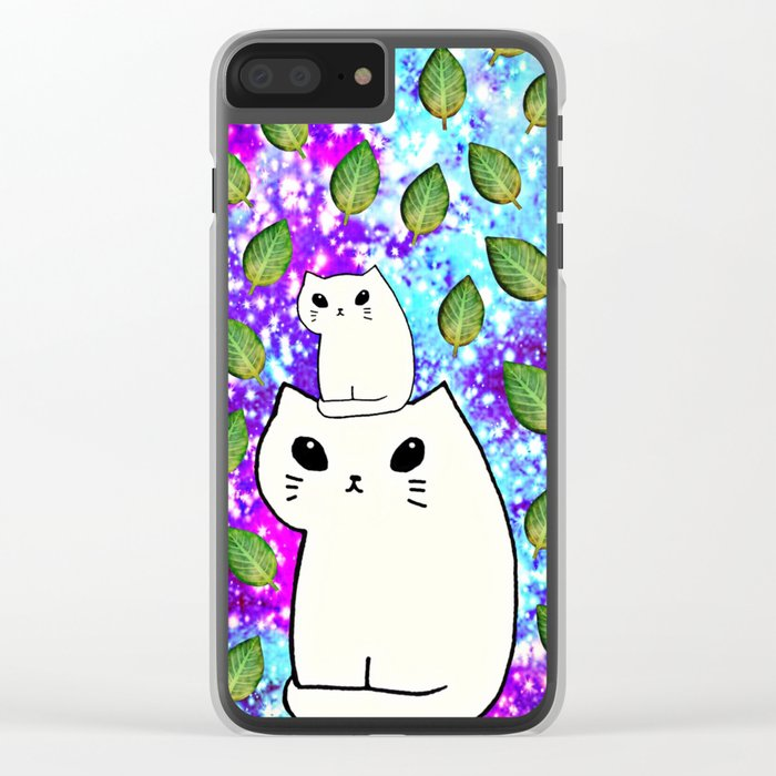 cats-425 Clear iPhone Case