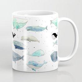 Blue whales Coffee Mug