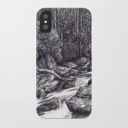 Black and White 6 iPhone Case