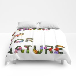 Stand Up For Nature Comforters