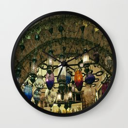Turkish Lanterns! Wall Clock
