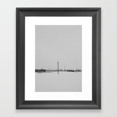 solo pole  Framed Art Print