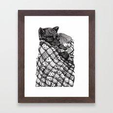 Under The Quilt Framed Art Print