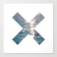 the xx Canvas Prints featuring XX  by Sara Eshak
